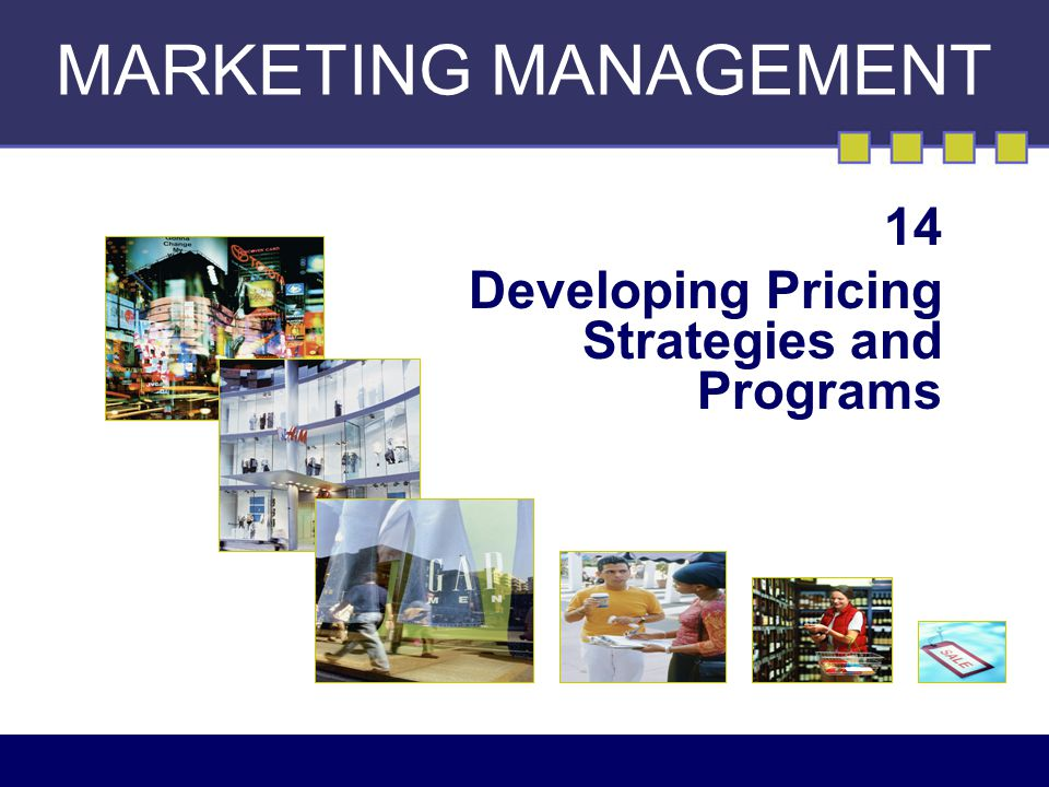managing marketing programs pricing strategies mobile This course is designed to enhance your business knowledge related to business concepts-sales,marketing,managementect.