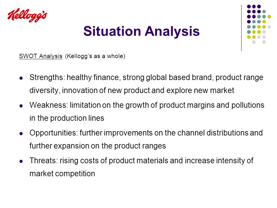 Kellogg SWOT Analysis