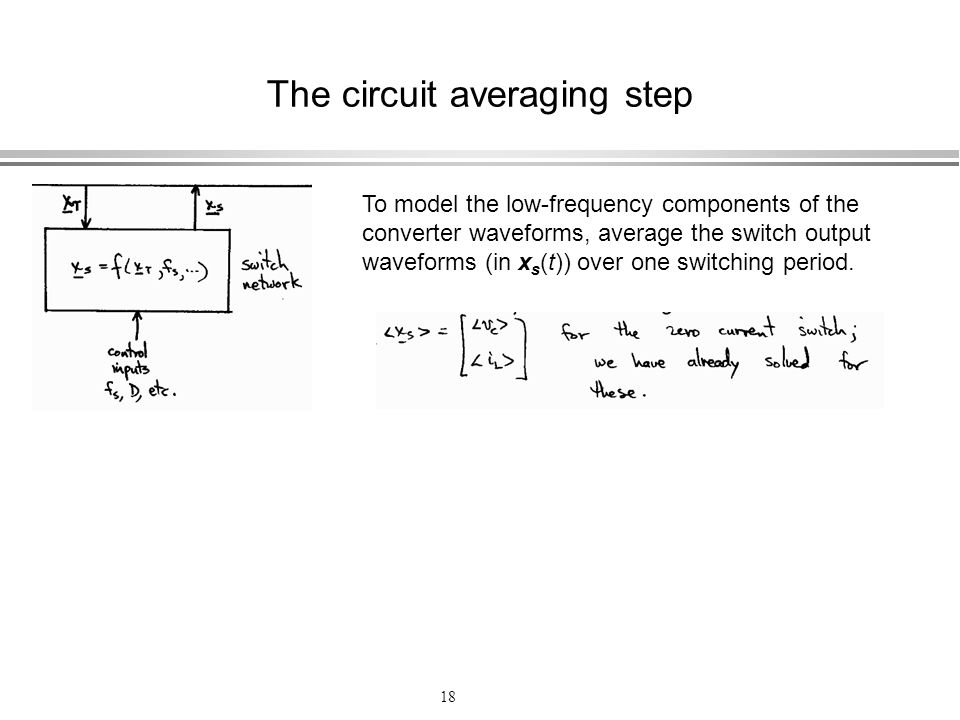 The circuit averaging step