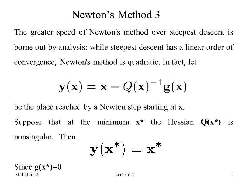 Newton's Method 3