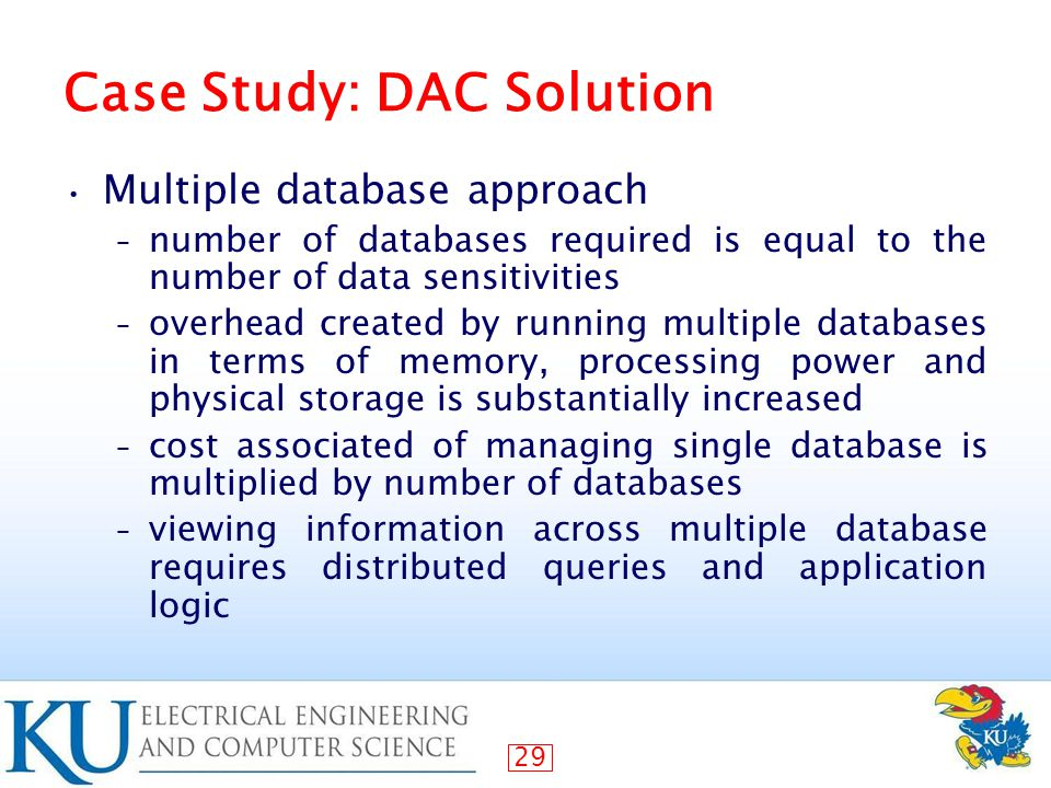 case study of distributed database management system A system is considered scalable if it is capable  in the case of a distributed system)  system or database management system is one that can be.