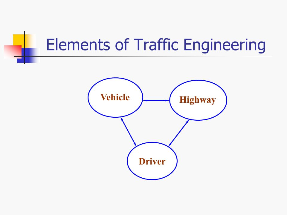 elements of traffic engineering pdf
