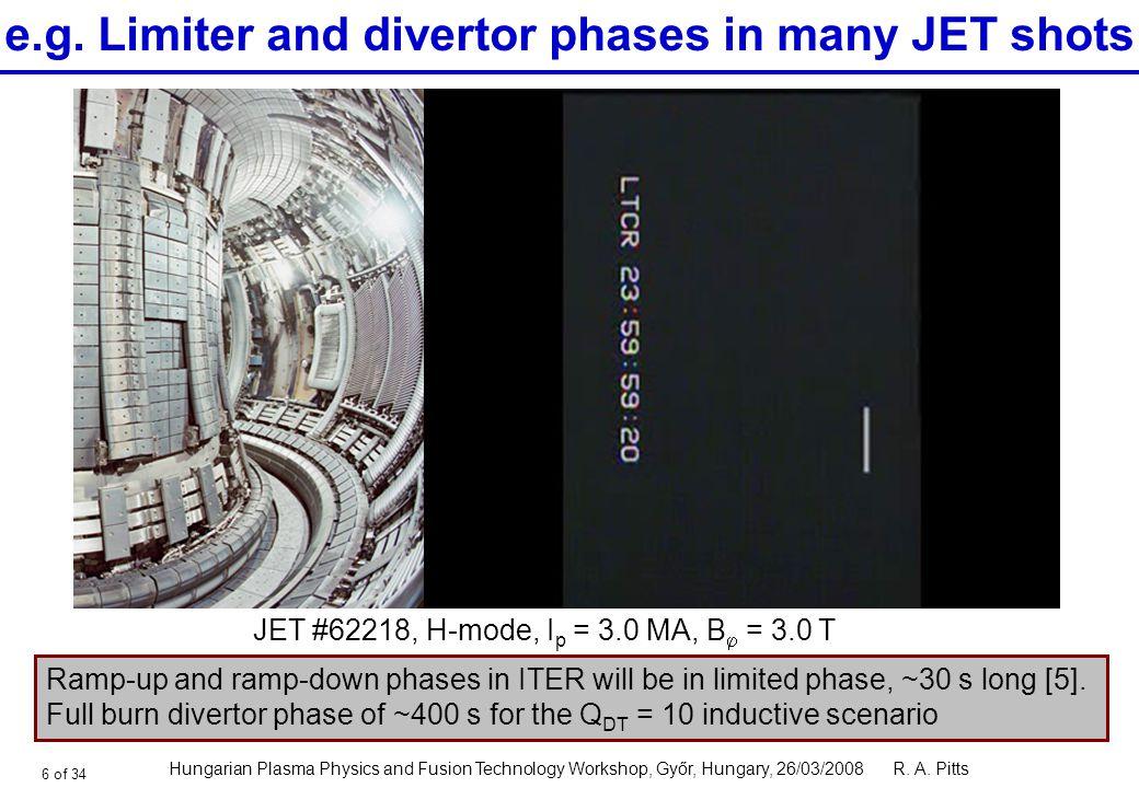 Tokamak Edge Physics And Plasma Surface Interactions Ppt