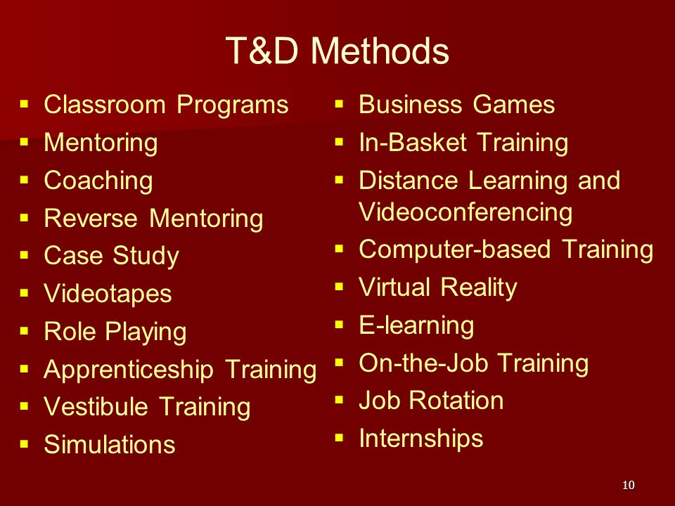 t d coaching and mentoring final Target audience: talent managers, t&d managers, and hr business partners or coaches who are responsible for developing first-time managers this webinar is also for those who want to get the most from a mentor or want to be stronger in mentoring someone else.
