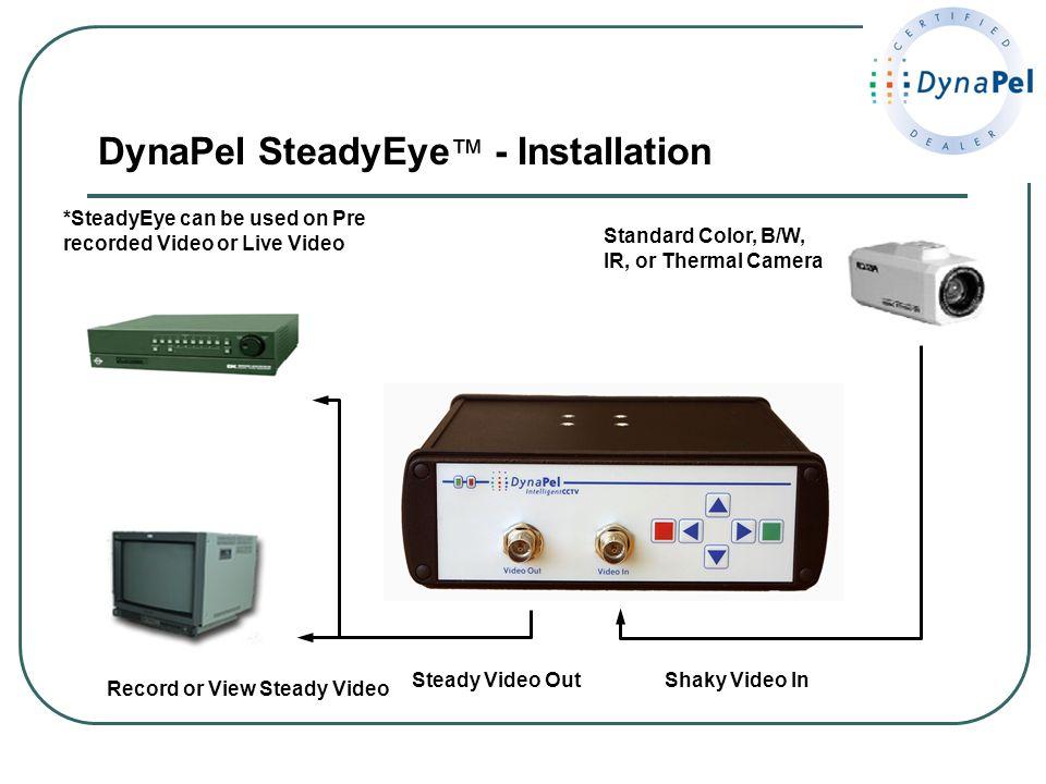 DynaPel SteadyEye™ - Installation