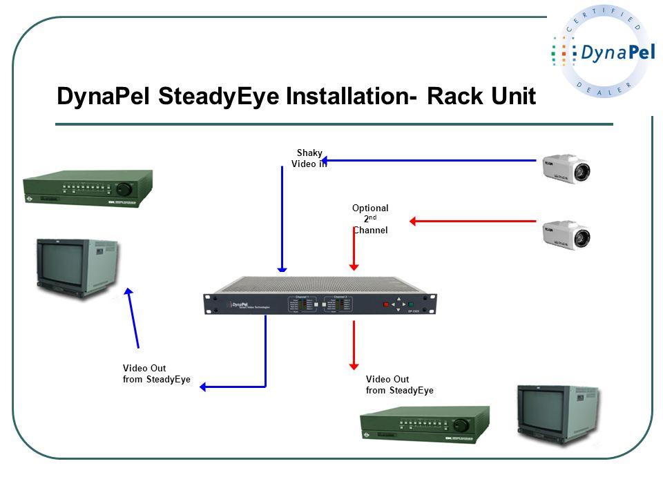 DynaPel SteadyEye Installation- Rack Unit
