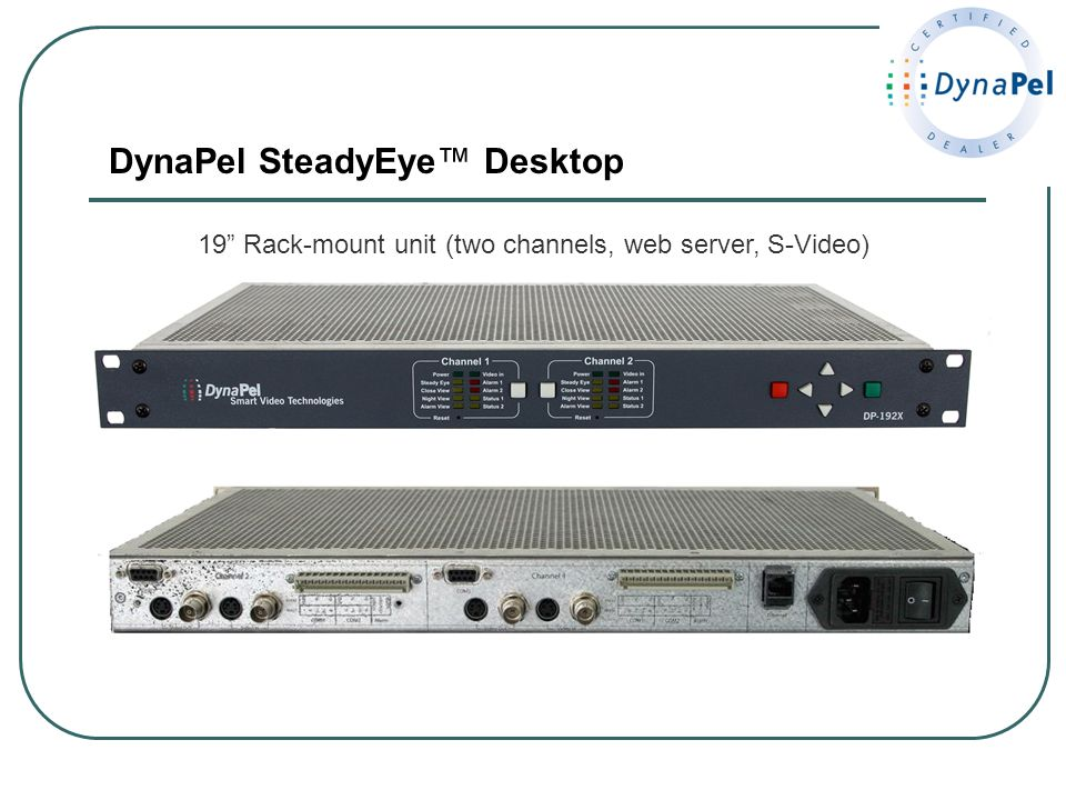 DynaPel SteadyEye™ Desktop