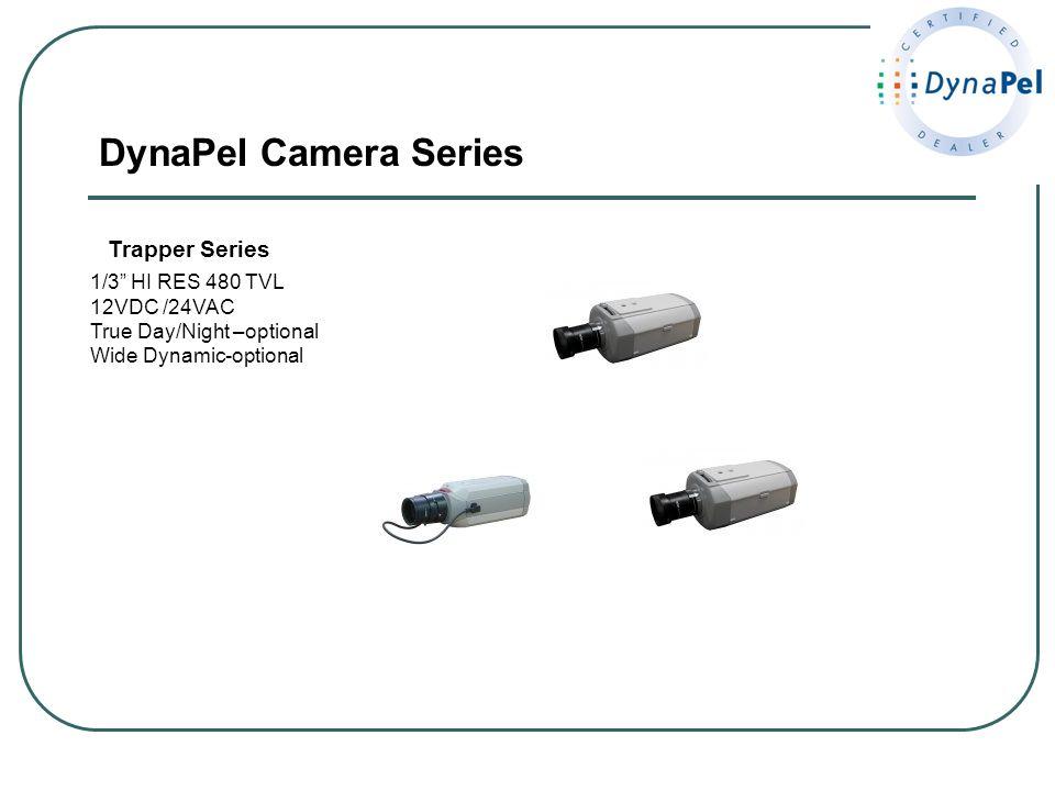 DynaPel Camera Series Trapper Series 1/3 HI RES 480 TVL 12VDC /24VAC