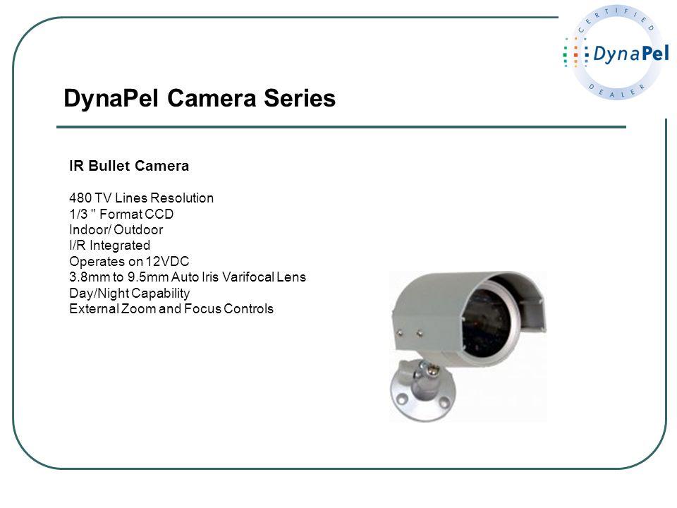 DynaPel Camera Series IR Bullet Camera 480 TV Lines Resolution