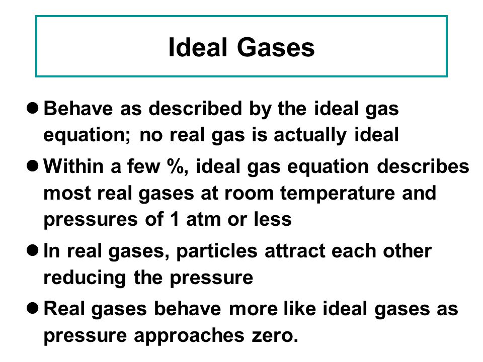 GASES Gases are one of the most pervasive aspects of our ...