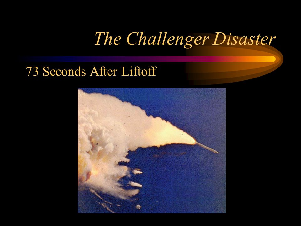 challenger disaster Esd10 33 – the challenger disaster 2/2 poor communication and poor ethics in the investigation that followed a number of contributing factors were identified.