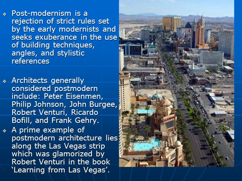 Postmodern Architecture Gehry postmodernism and culture. - ppt video online download