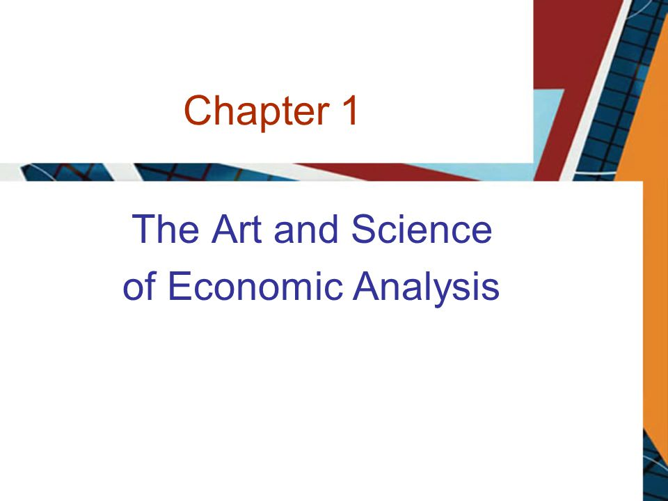The Art and Science of Economic Analysis