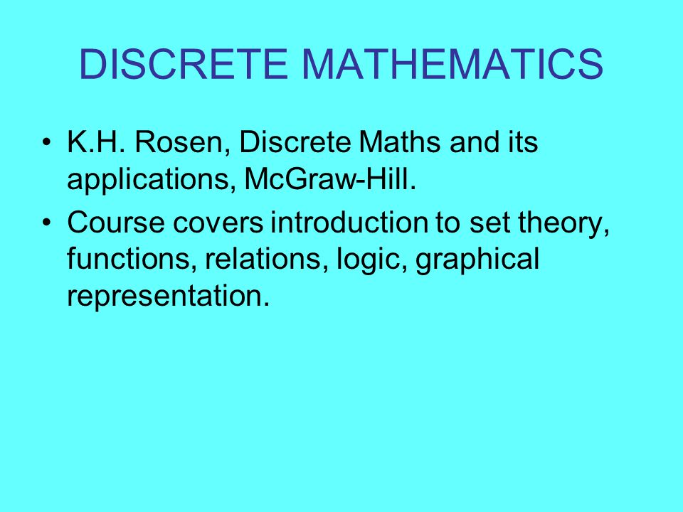 Download Discrete Mathematics By Rosen For Unprecedented Nylon Cf