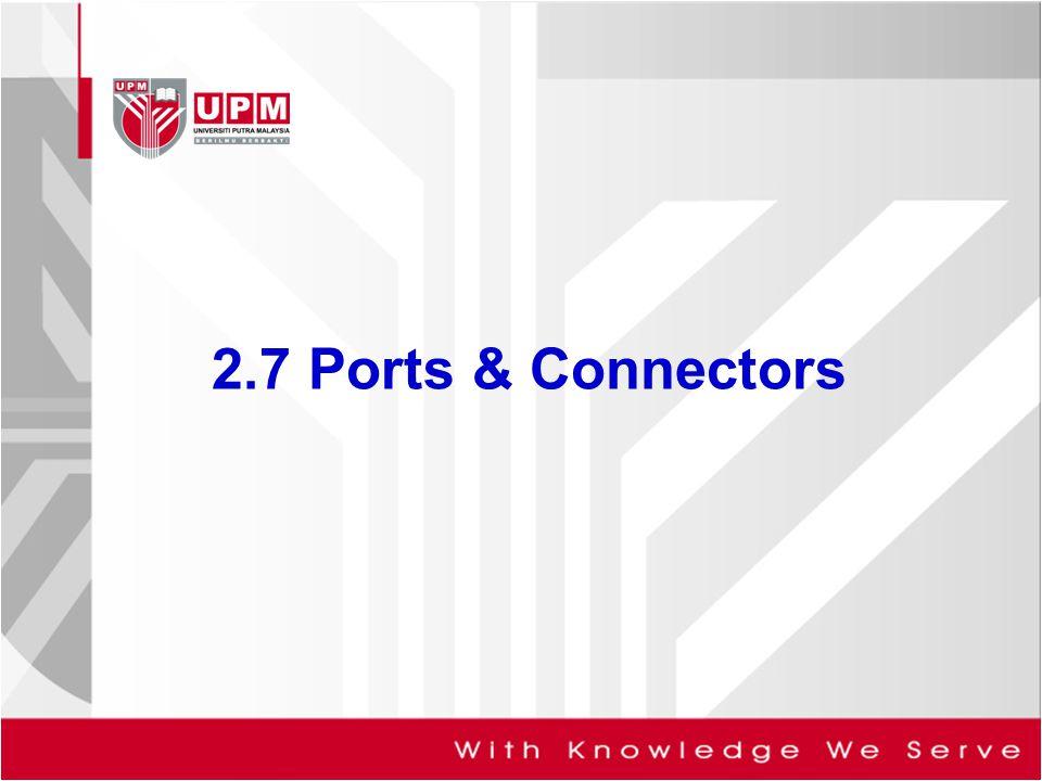 2.7 Ports & Connectors