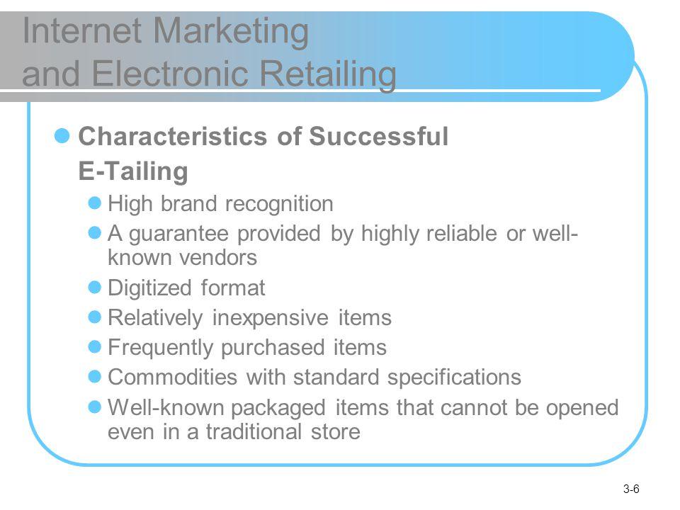 e-tailing business models pdf