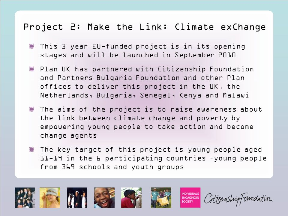 Project 2: Make the Link: Climate exChange