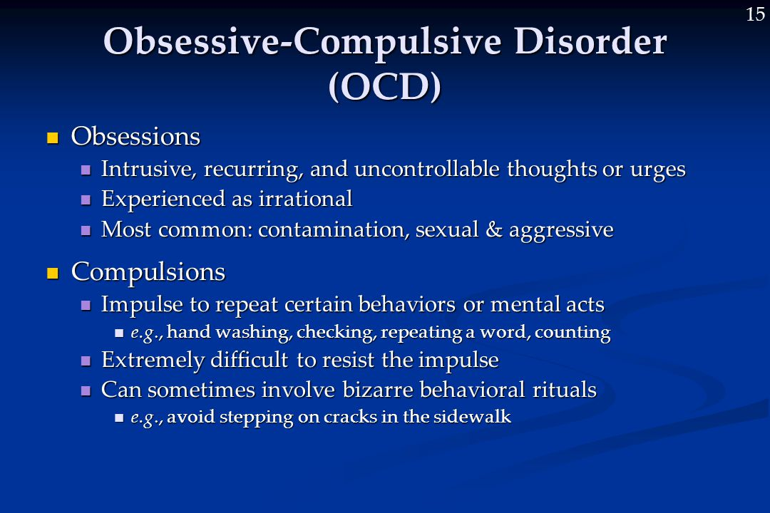 Ocd Sexual Obsessions Symptoms