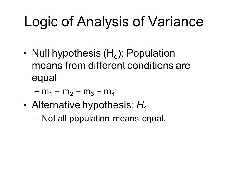 analysis of variance formula pdf
