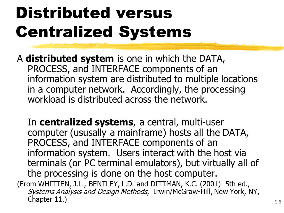 centralized versus distributed server model comparison Compare a centralized-versus-distributed-server model as an in-house implementation to cut costs determine the viability of both as they apply to riordan-to understand keeping is/it functions in-house.