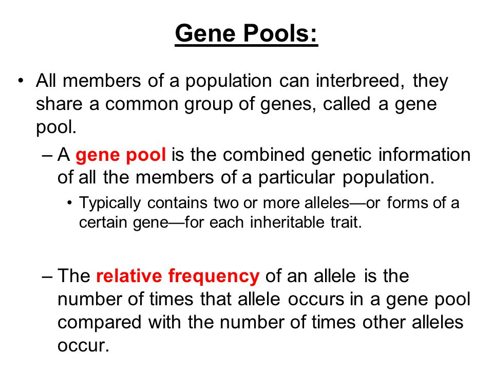 1.2: Most Genes Do Not Function Alone - ppt video online download