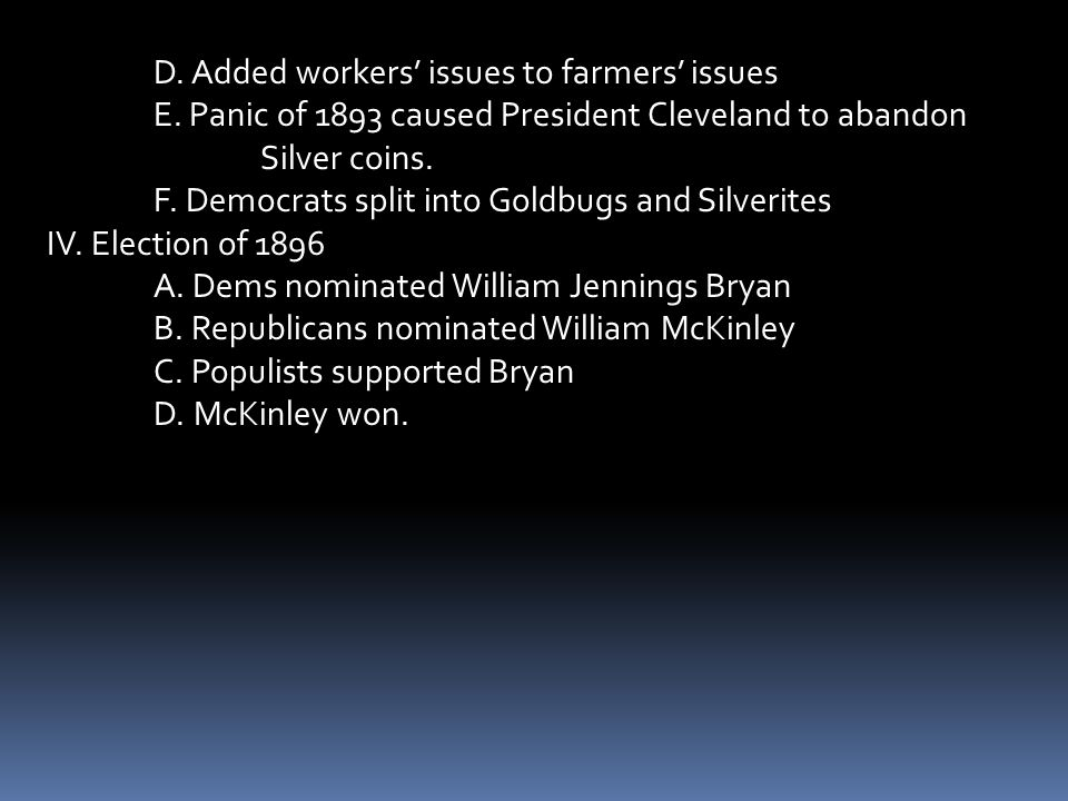 D. Added workers' issues to farmers' issues