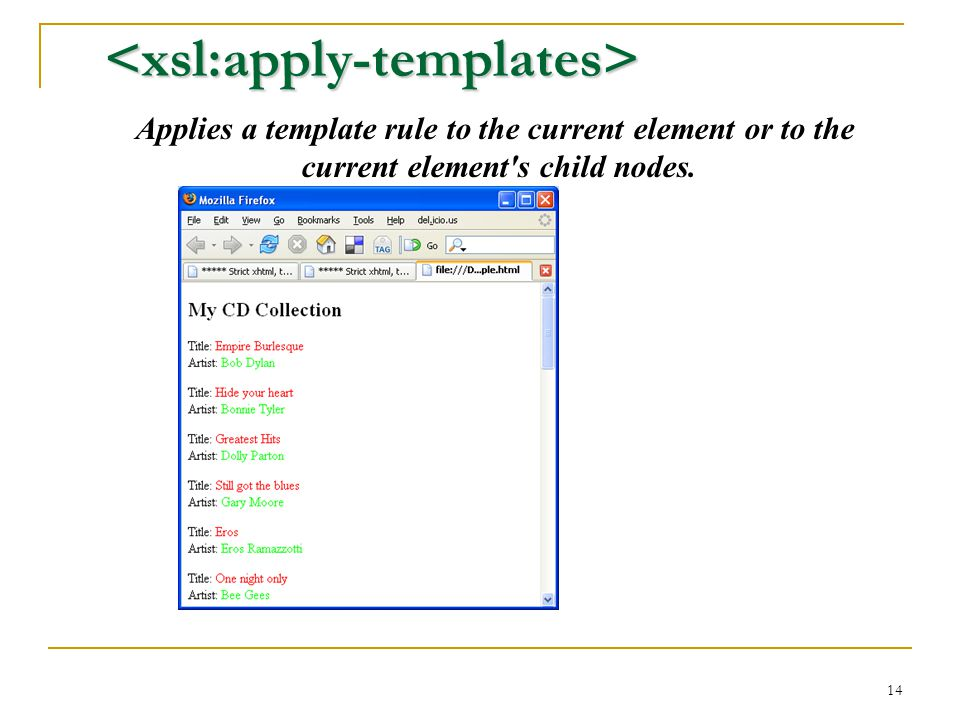 extensible stylesheet language ppt download With xsl apply templates