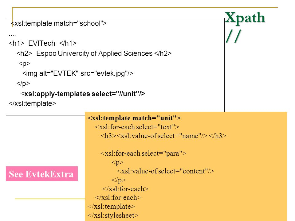 Extensible stylesheet language ppt download for Xsl named template