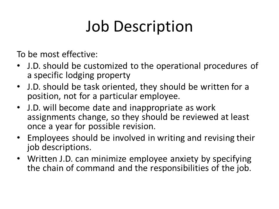 Front office operations ppt download – Office Supervisor Job Description