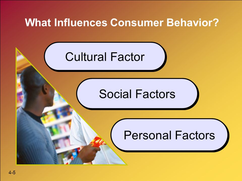 social cultural and environmental factors influencing consumer behaviour 4 important factors that influence consumer behaviour consumer behaviour – the consumer, the king of the market is the one that dominates the market and the market trends  lets us know the king first.