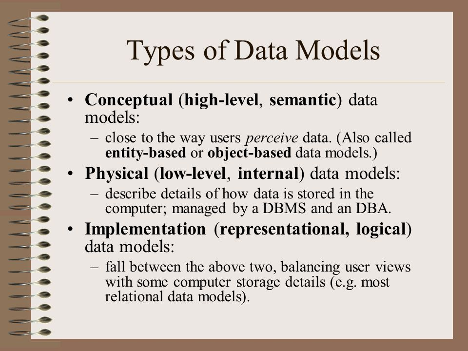 Database Systems Chapter 2 - ppt video online download