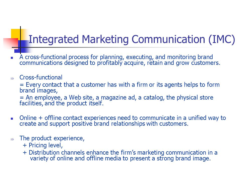 integrated marketing communication imc essay An individual written report on integrated marketing communication 1 introduction this essay has examined imc and ibp definitions, events and issues related to.