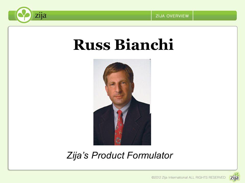 Russ Bianchi Zija's Product Formulator