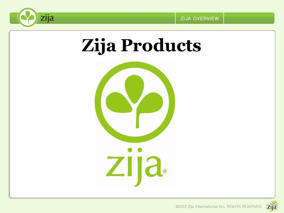 Zija Products