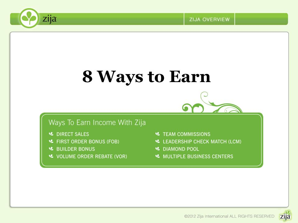 8 Ways to Earn