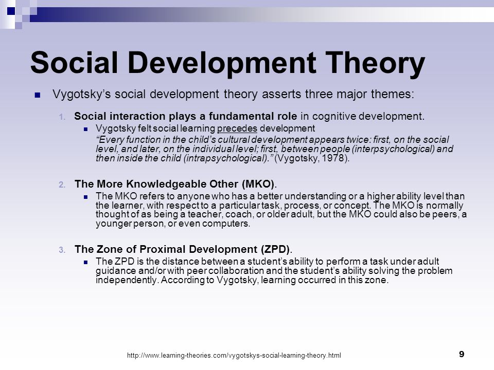 social learning theorys major concepts