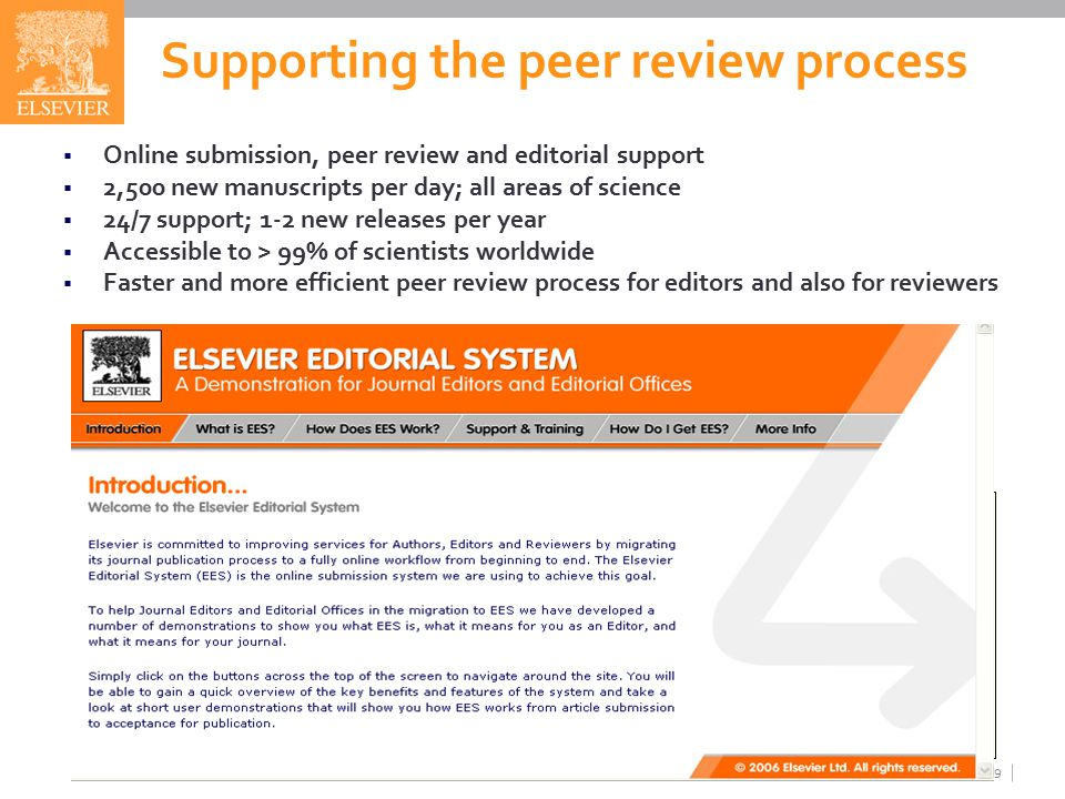 manuscript submission and peer review system The american journal of managed care provides access manuscript processing and peer review tracking system to check the status of their manuscript submission.