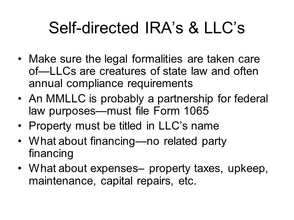 Ira Llc Operating Agreement Self Directed Ira Llc Mandegarfo