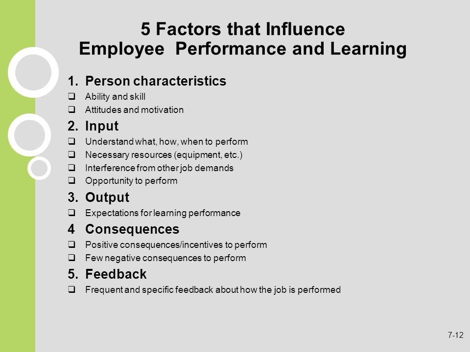 factors that influence an employee to Key factors influencing employee response toward change: so it becomes important for management to analyze the factors that influence employee response towards change and to deal with them in a manner that factors influencing employee response towards changes in management are seen as.