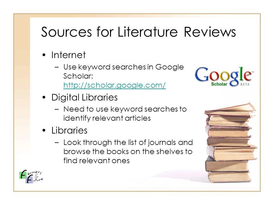 how to use google scholar to find relevant articles