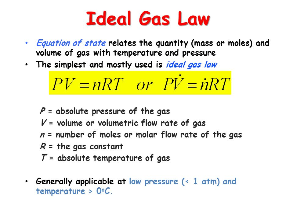 molar mass of an ideal gas One mole of a gas at stp has a volume of 224 l so if we have the molar mass of the gas , just divide it by 224 to get the density of that gas.