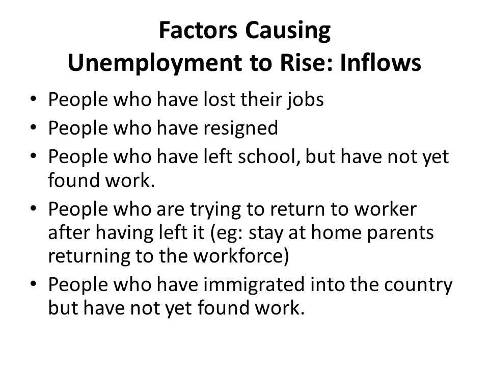 philippines factors causing unemployment Causes of unemployment in south africa  the starting point then is to understand the causes of our structural unemployment in order to figure out how to fix it.