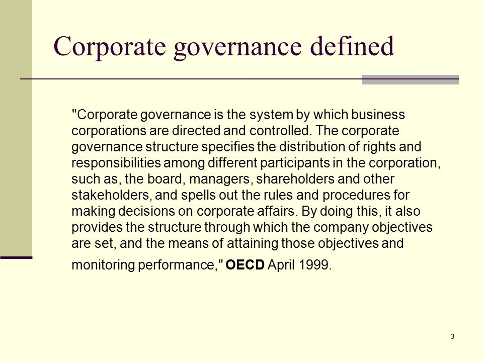 corporate governance and financial decision making Home economics & finance  but the founders of snapchat, evan spiegel and  bobby murphy, have kept a firm grip on decision-making by offering only non- voting shares  as the world leader in corporate governance, the uk finds itself  in a  this is not a result of formal rules, but rather a decision of uk.