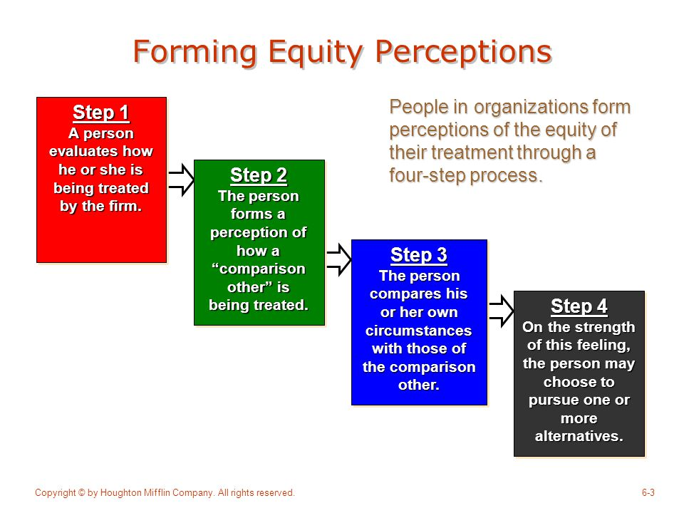 Forming Equity Perceptions