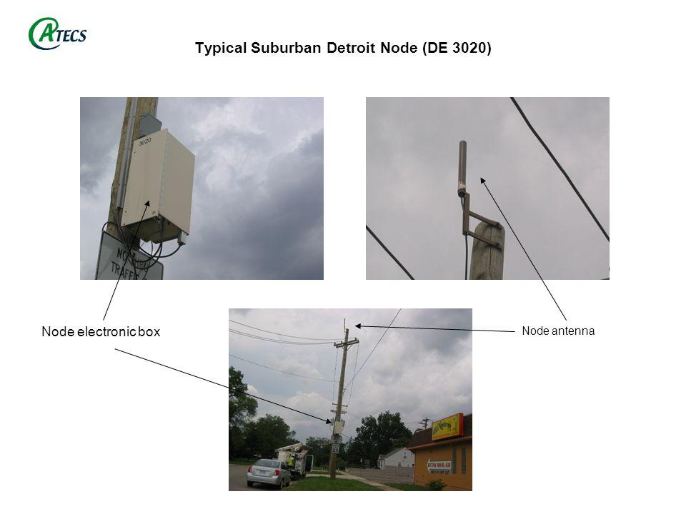 Typical Suburban Detroit Node (DE 3020)