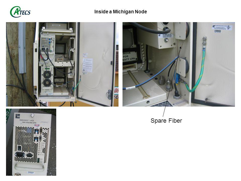 Inside a Michigan Node Spare Fiber