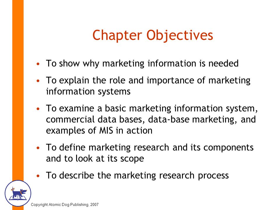 The Effect of Marketing Information System on Sales Performance