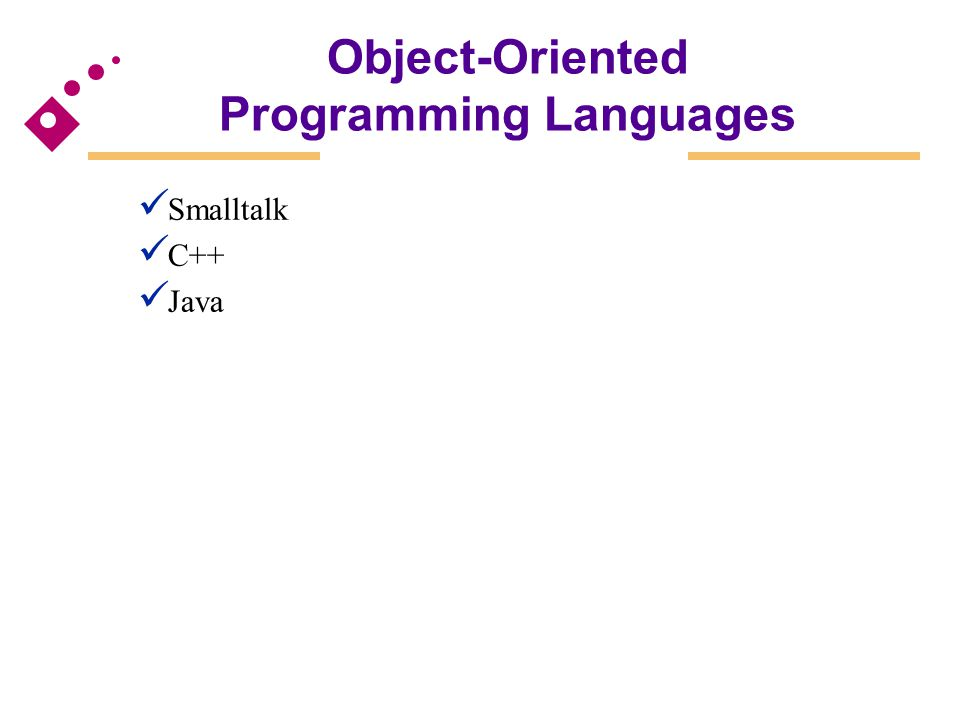 polymorphism language in object oriented programming Object-oriented programming languages (oopls) directly support the object notions of classes, inheritance, information hiding (encapsulation), and dynamic binding (polymorphism) there an object-oriented programming language is one that allows.