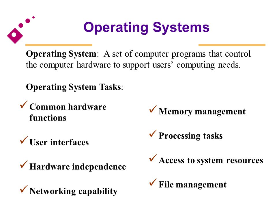 computer programs and systems