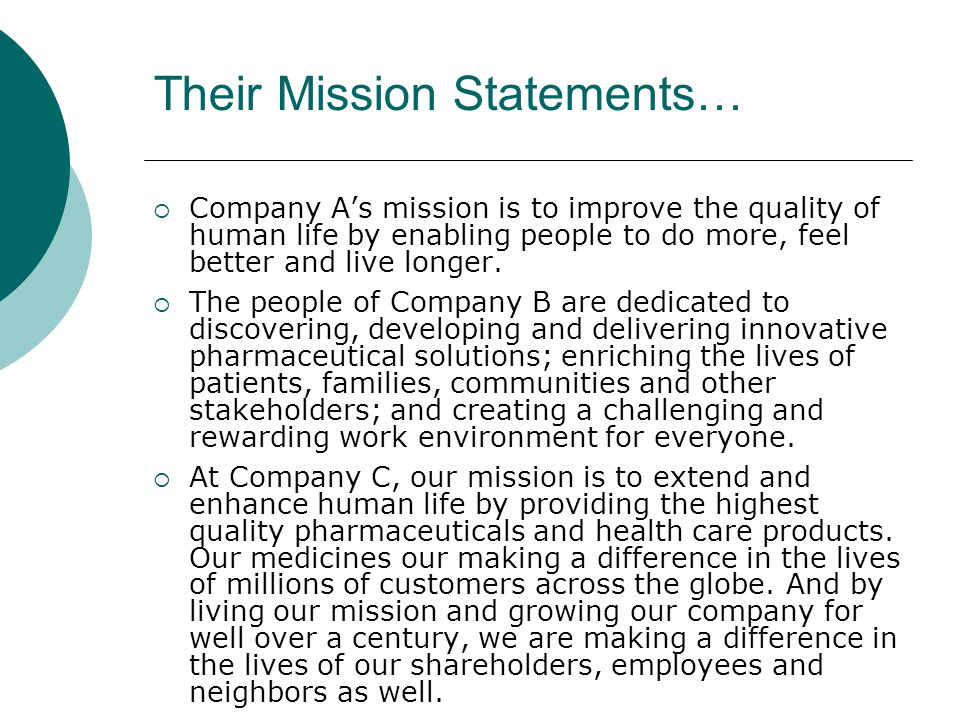 ibm mission and vision statement